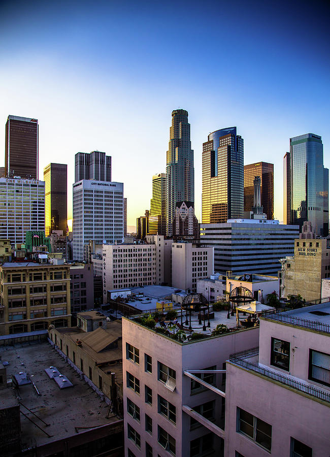 Downtown Los Angeles Skyline Photograph by Hal Bergman Photography