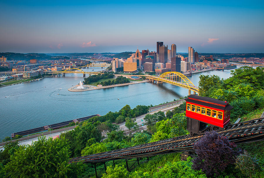 Downtown Pittsburgh, Pennsylvania Photograph by HaizhanZheng