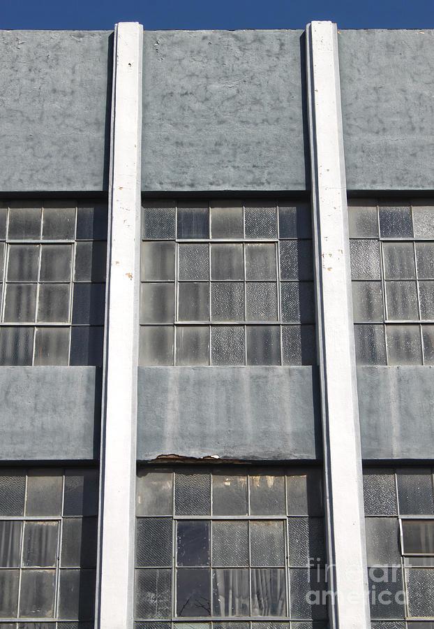 Windows Photograph - Downtown Pomona Windows by Gregory Dyer