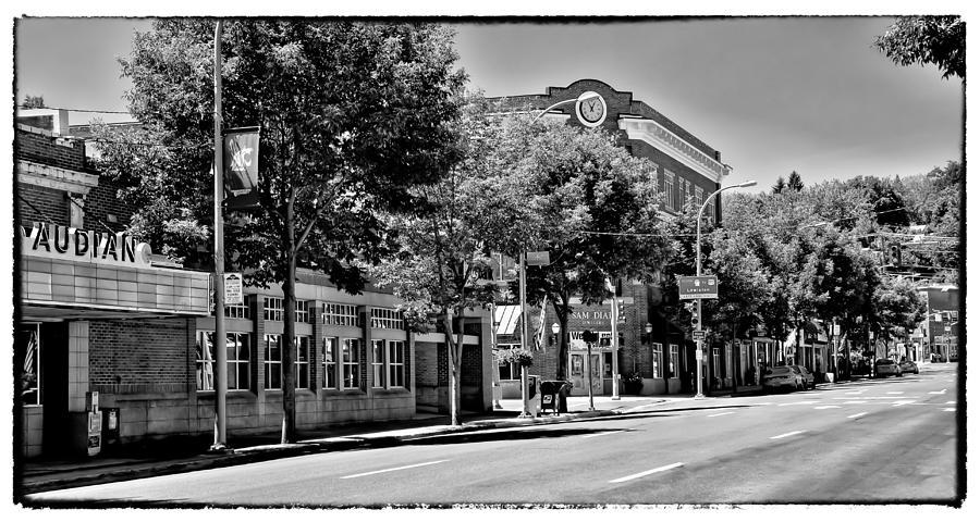 Downtown Pullman Washington - The Vintage Look Photograph