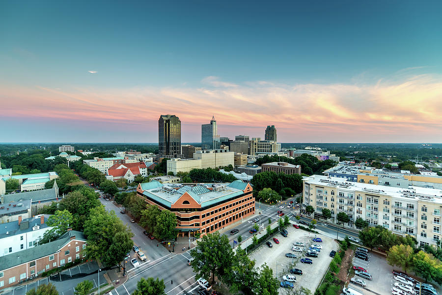 Downtown Raleigh Twilight, North Photograph by Mlenny