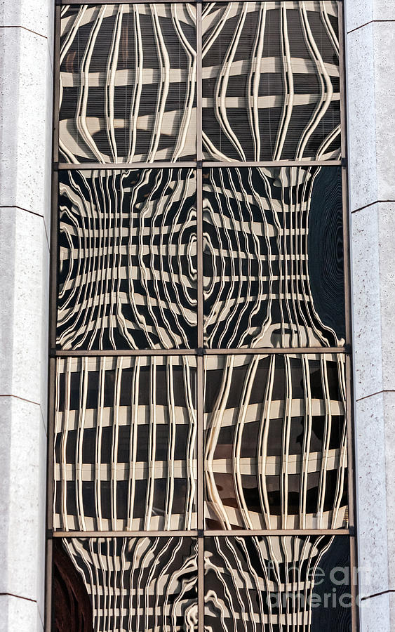 Brown Photograph - Downtown Reflection by Kate Brown