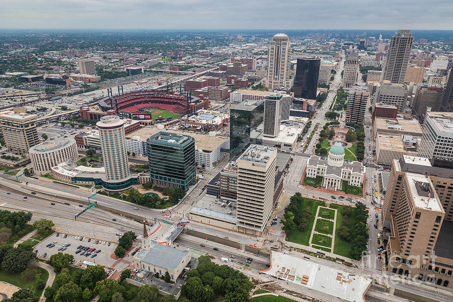 Downtown St Louis by Sophie Doell