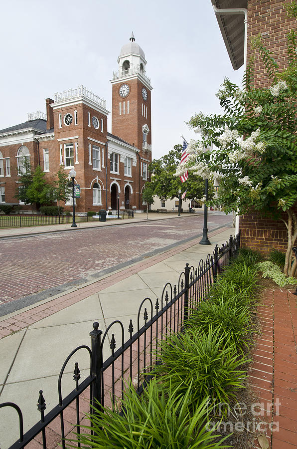 South Photograph - Downtown Streets II by Debra Johnson