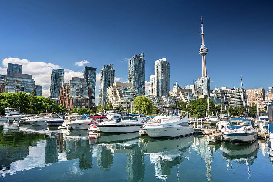 Cầu cảng Harbourfront tọa lạc tại thành phố Toronto Canada