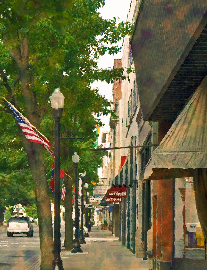 Bristol Photograph - Downtown Usa by Denise Beverly