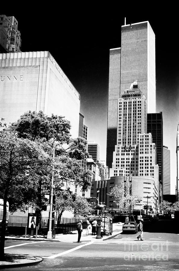 Downtown Views 1990s Photograph - Downtown Views 1990s by John Rizzuto