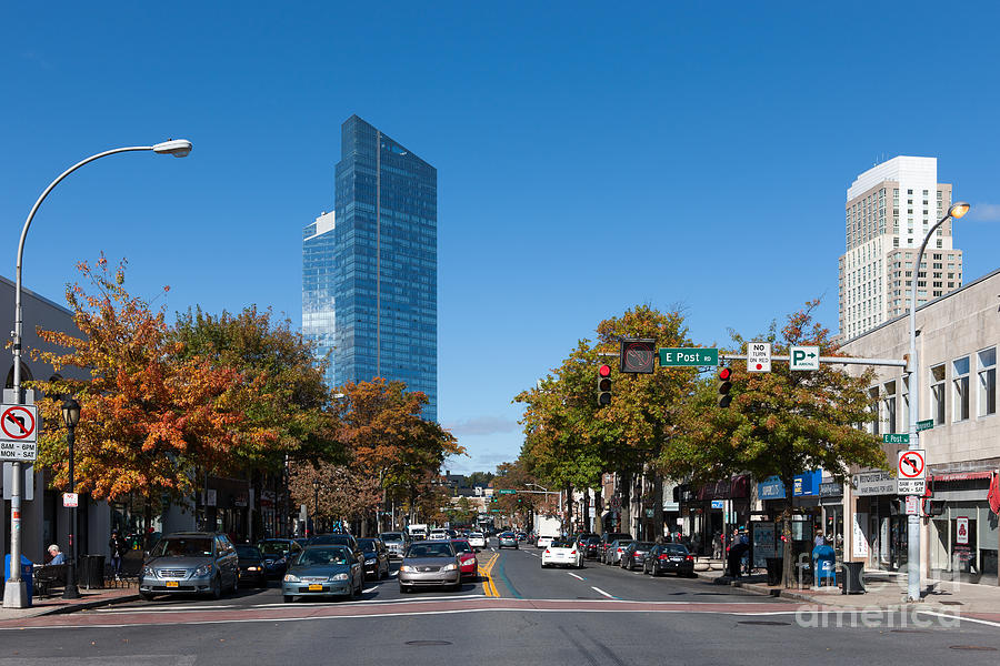 Downtown White Plains New York IIi Photograph by Clarence ...