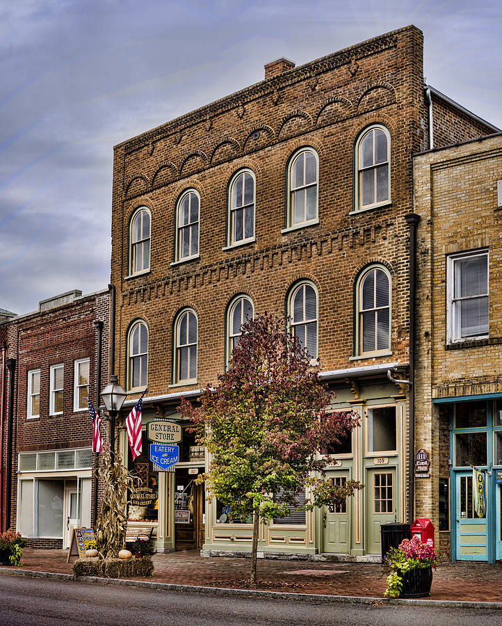 General Store Photograph - Dowtown General Store by Heather Applegate