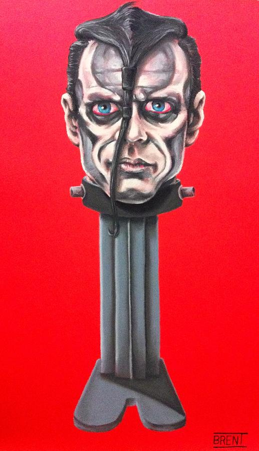 The Misfits Pastel - Doyle Wolfgang Von Frankenstein by Brent Andrew Doty