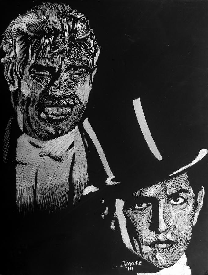 It's just a photo of Invaluable Dr Jekyll And Mr Hyde Drawing