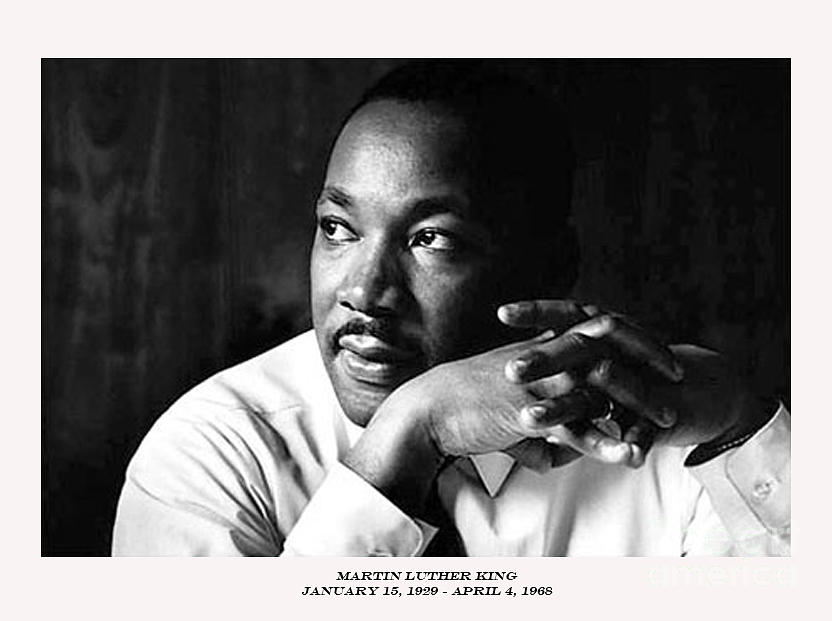 Martin Luther King Photograph - Dr. Martin Luther King Jr. by David Bearden