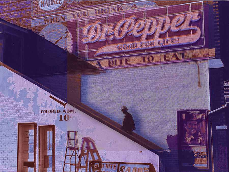 Dr Pepper Painting - Dr Pepper Blues The Way It Was by Tony Rubino