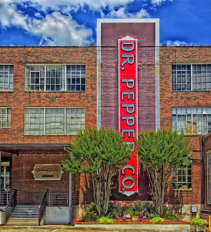 Birmingham Photograph - Dr Pepper Place - Birmingham Alabama by Mountain Dreams