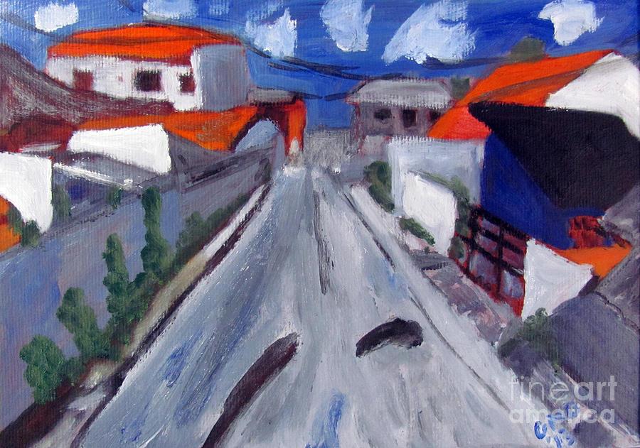 Study Painting - Dr Rua Rafael Ribeiro Study 2 by Greg Mason Burns