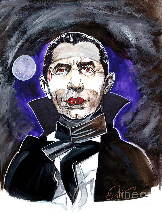 Bela Lugosi Painting - Dracula Bela Lugosi by Dave Olsen