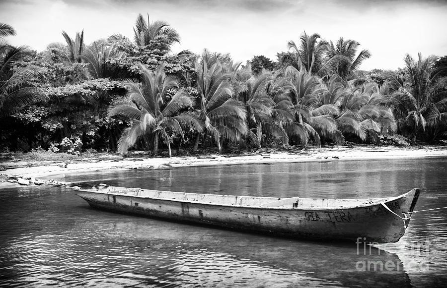 Canoe Photograph - Drago Canoe by John Rizzuto
