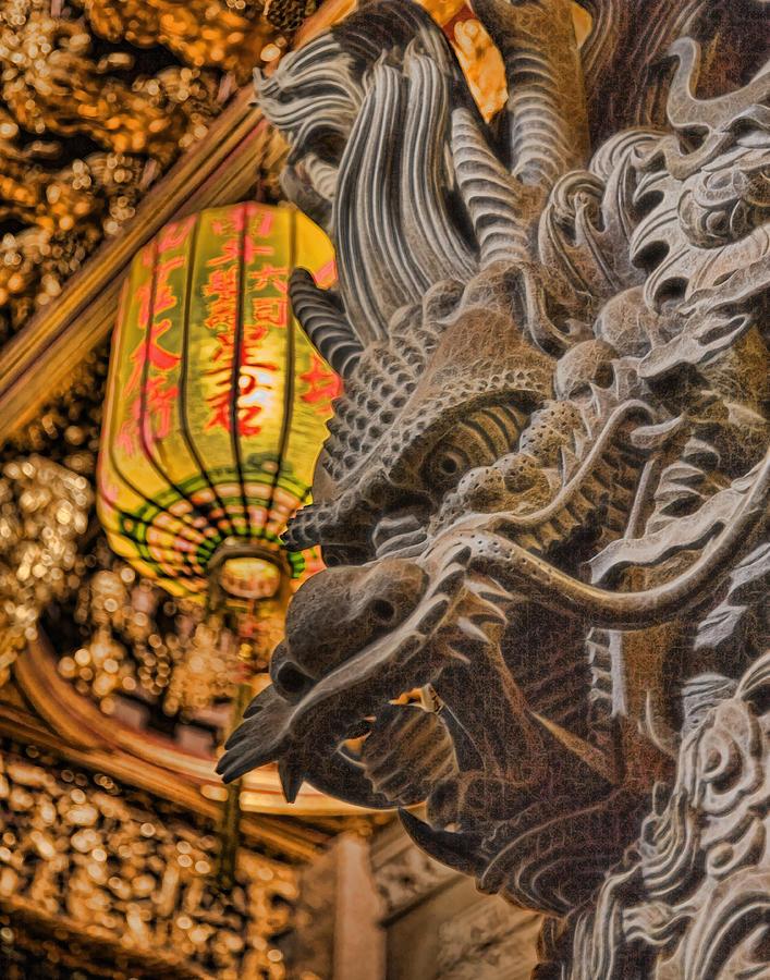 Dragon Photograph - Dragon by Karen Walzer