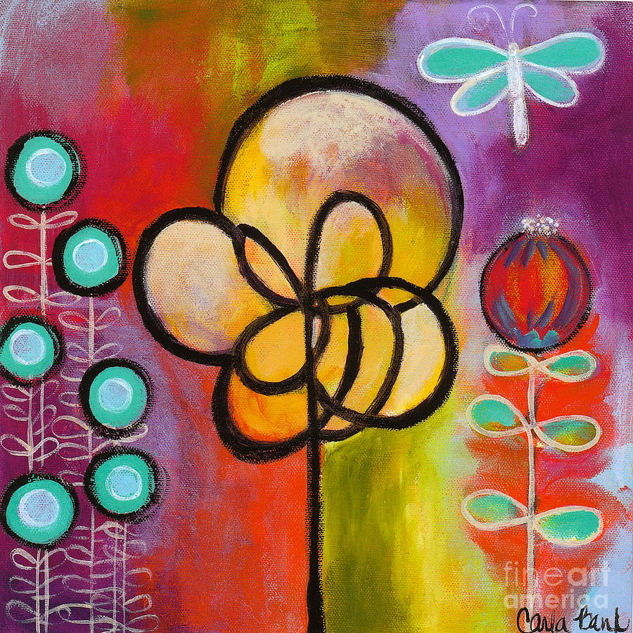 Dragonfly Painting - Dragonfly by Carla Bank