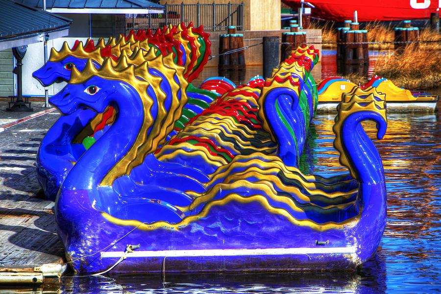 Dragons Photograph - Dragons by David Simons