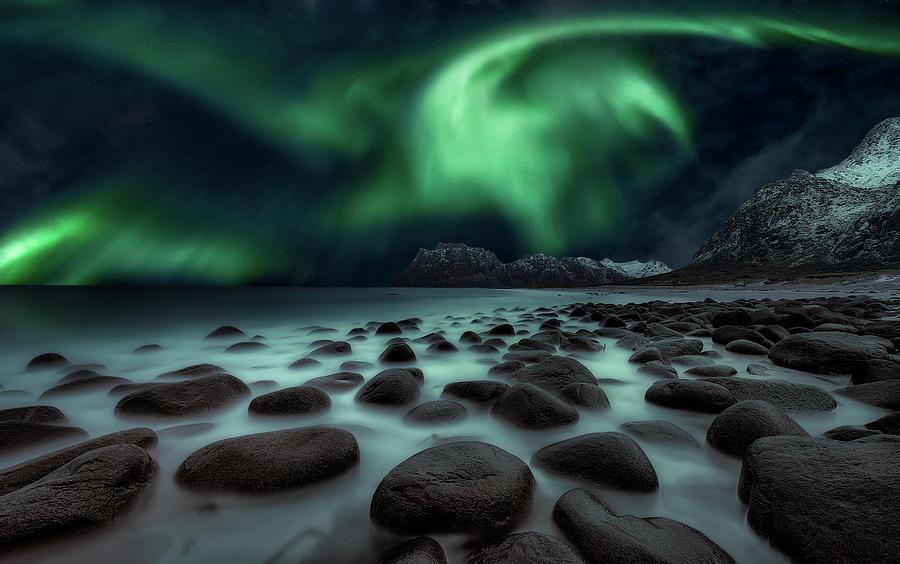 Landscape Photograph - Dragons Fly by Javier De La