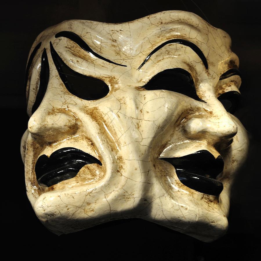 Dramatic Mask Photograph by Matt MacMillan
