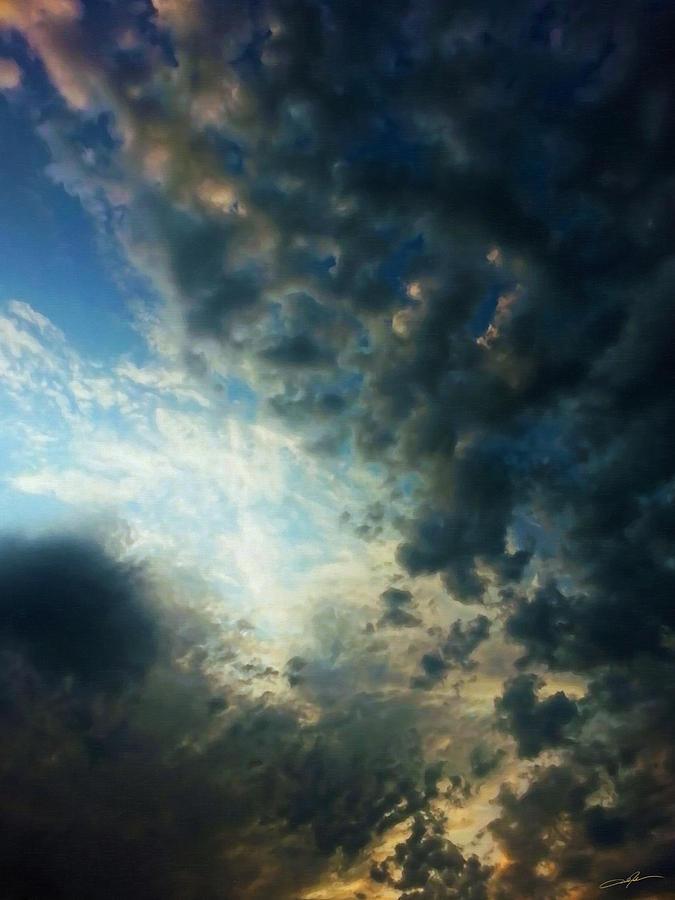 Sky Digital Art - Dramatic Morning by Dale Jackson