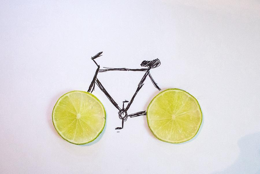 Drawing Of Bicycle Photograph by Celine Nguyen / Eyeem