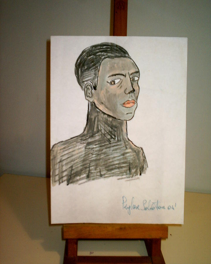 Portrait Drawing - Drawing by Salvatore Pugliese