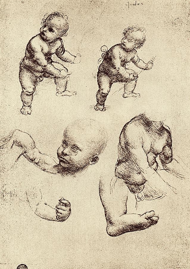Child Photograph - Drawings Of A Child by Sheila Terry