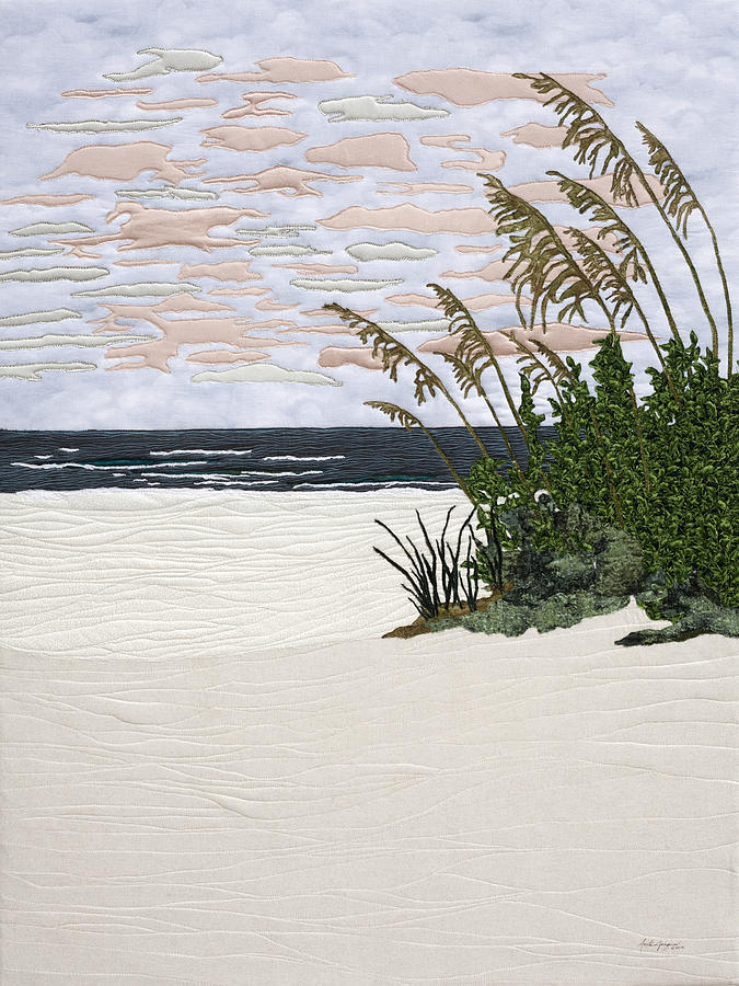 Sea Painting - Drawn To The Sea II by Anita Jacques
