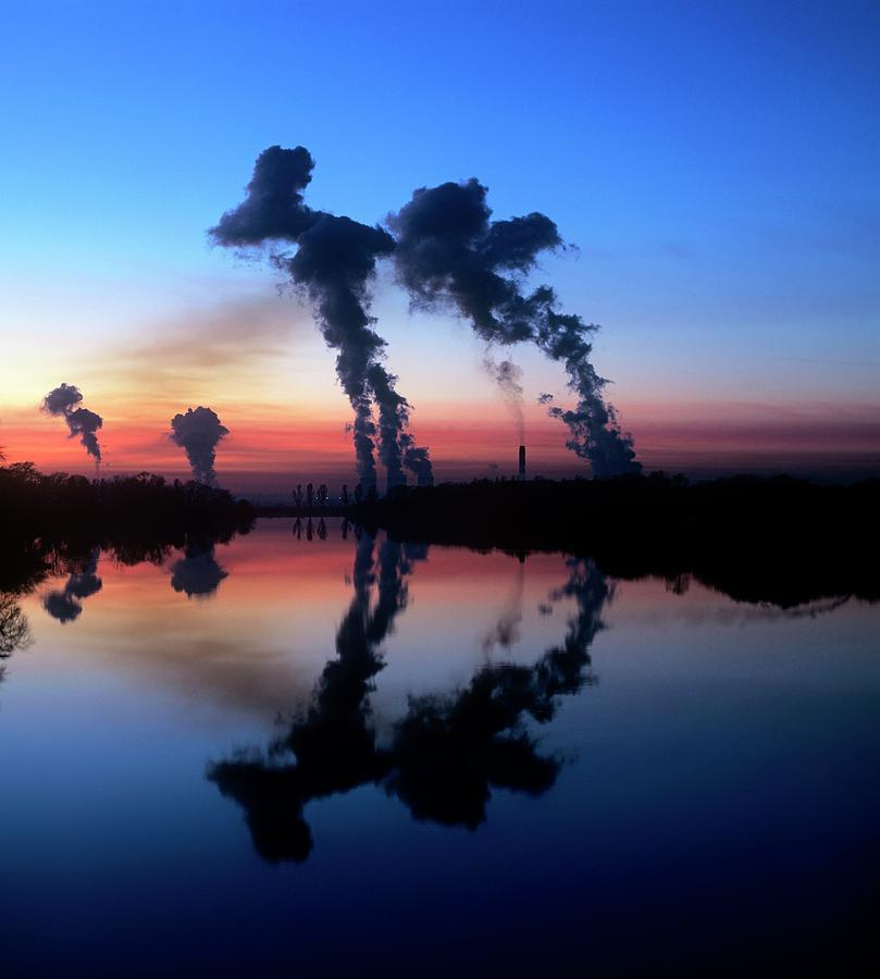 21st Century Photograph - Drax Coal-fired Power Station by Martin Bond