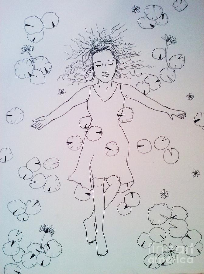 Dream Drawing - Dream 1 by Esther Rowden