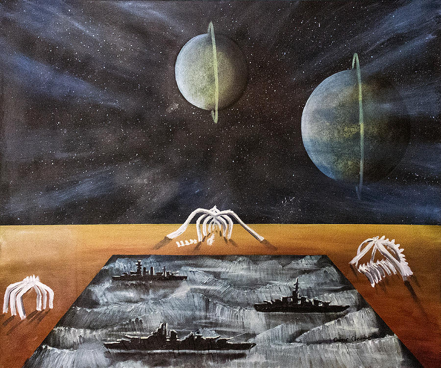 Surreal Painting - Dream 18 by Cedric Chambers