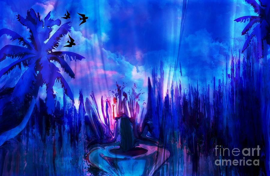 Dream Painting - Dream A Little Dream Of Me by Sherris - Of Palm Springs