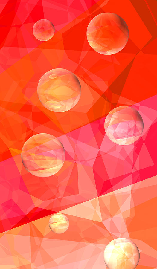Abstract Digital Art - Dream A Little Dream by Wendy J St Christopher
