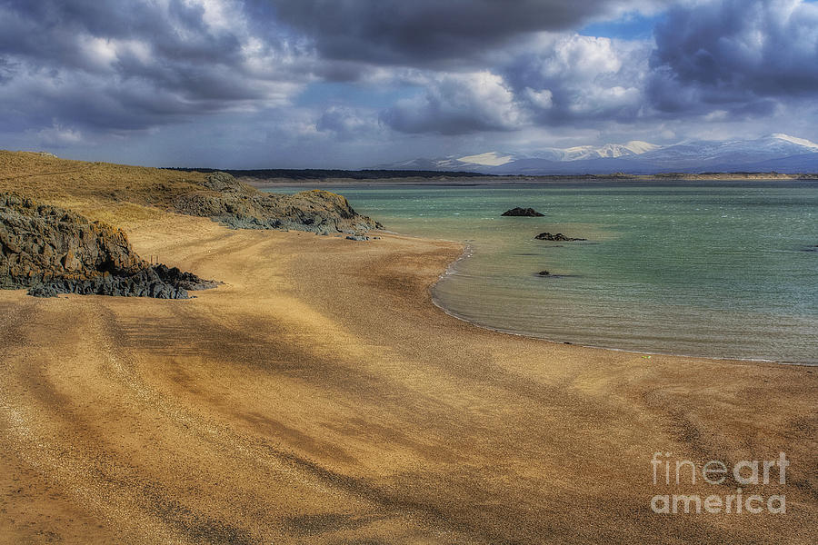 Clouds Photograph - Dream Beach by Ian Mitchell