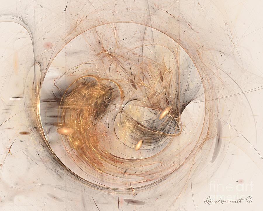 Abstract Digital Art - Dream Catcher by Leona Arsenault