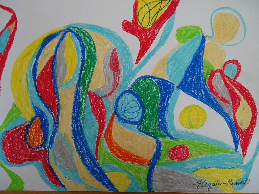 Imagination Painting - Dream by Fladelita Messerli-