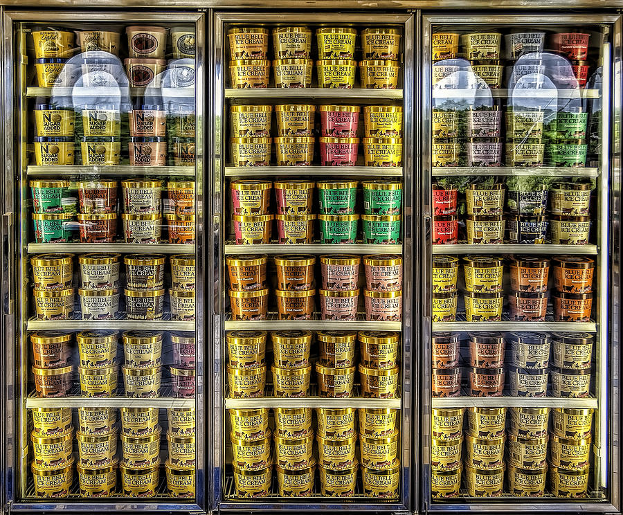 Blue Bell Photograph - Dream Fridge by Scott Norris