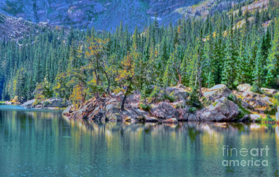 Dream Photograph - Dream Lake by Kathleen Struckle