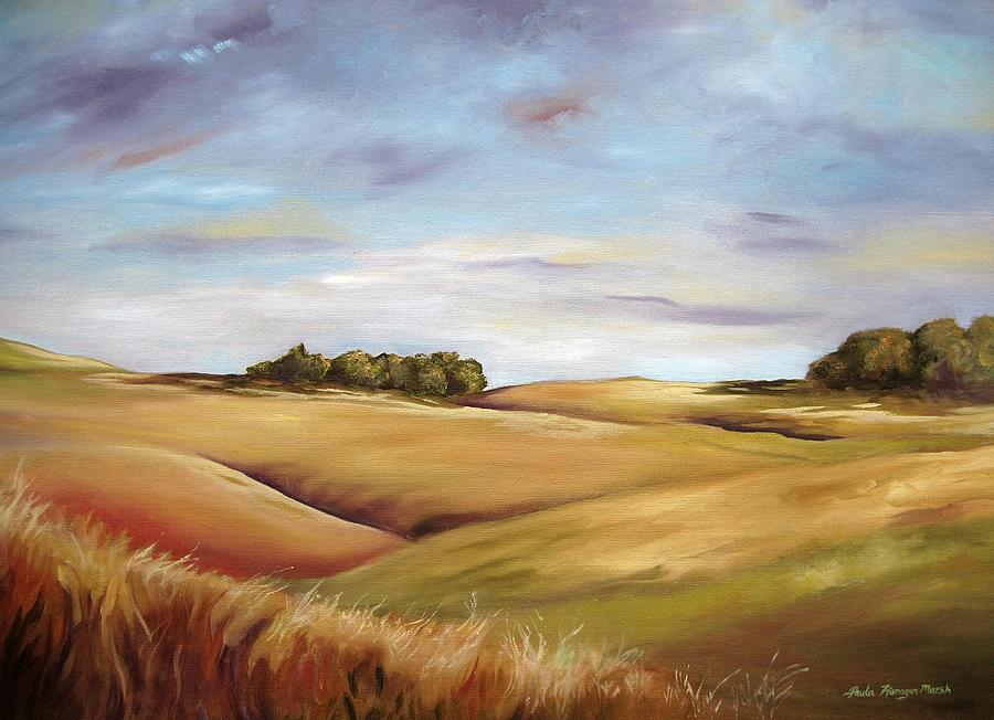 Landscape Painting - Dream Land by Paula Marsh