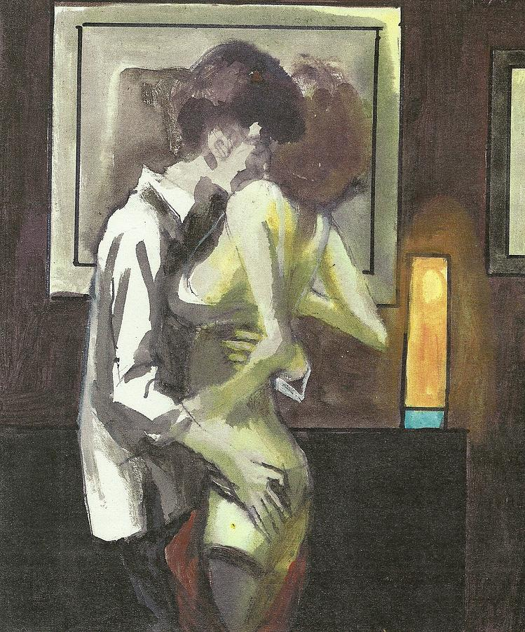 Love Painting - Dream Lover by Harry WEISBURD