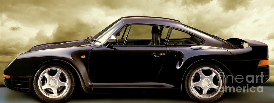 Porsche 959 Photograph - Dream Machine by Jon Neidert