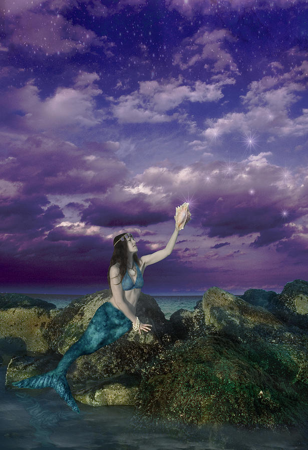 Dream Mermaid Photograph - Dream Mermaid by Alixandra Mullins