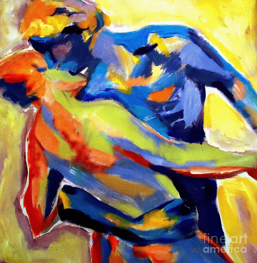 Colorful Painting - Dream Of Love by Helena Wierzbicki