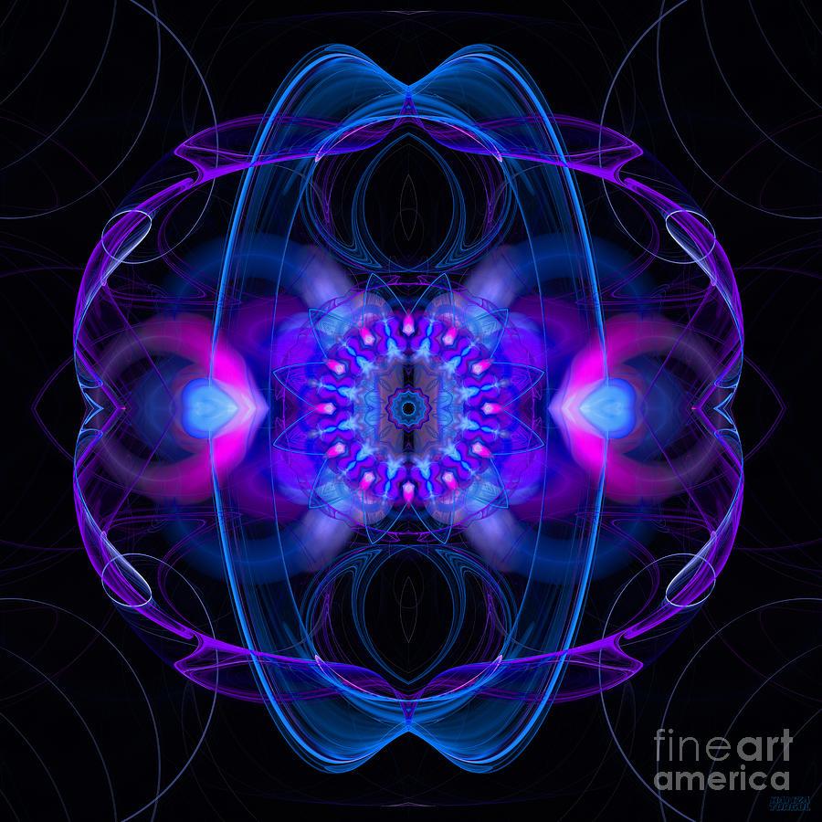 Abstract Digital Art - Dream Orbit by Hanza Turgul