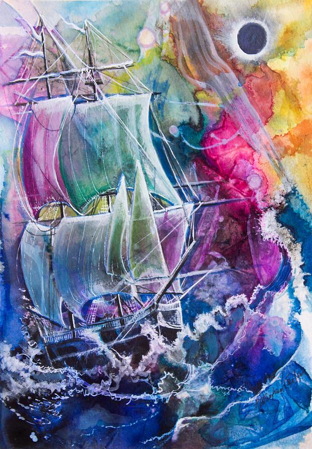 Dream Ship Painting