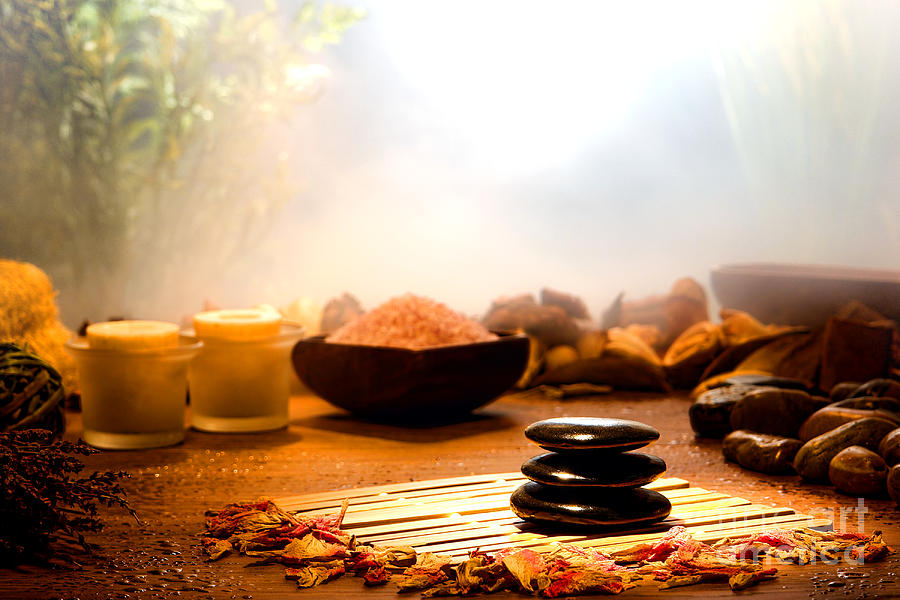 Aromatherapy Photograph - Dream Spa by Olivier Le Queinec