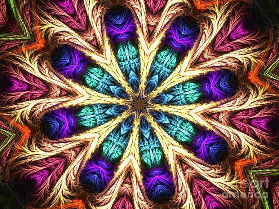 Simon Digital Art - Dream Star by Fania Simon